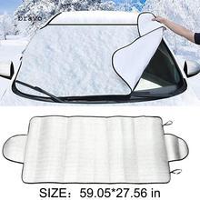 150*70 см автомобильное лобовое стекло снежное покрытие зима лед защита от мороза солнцезащитный козырек автомобильное окно экран Солнечный свет Мороз лед снег Защита от пыли