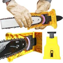 Chainsaw Teeth Sharpener Sharpens Saw Chain Fast Sharpening Stone Grinder Tools System Abrasive