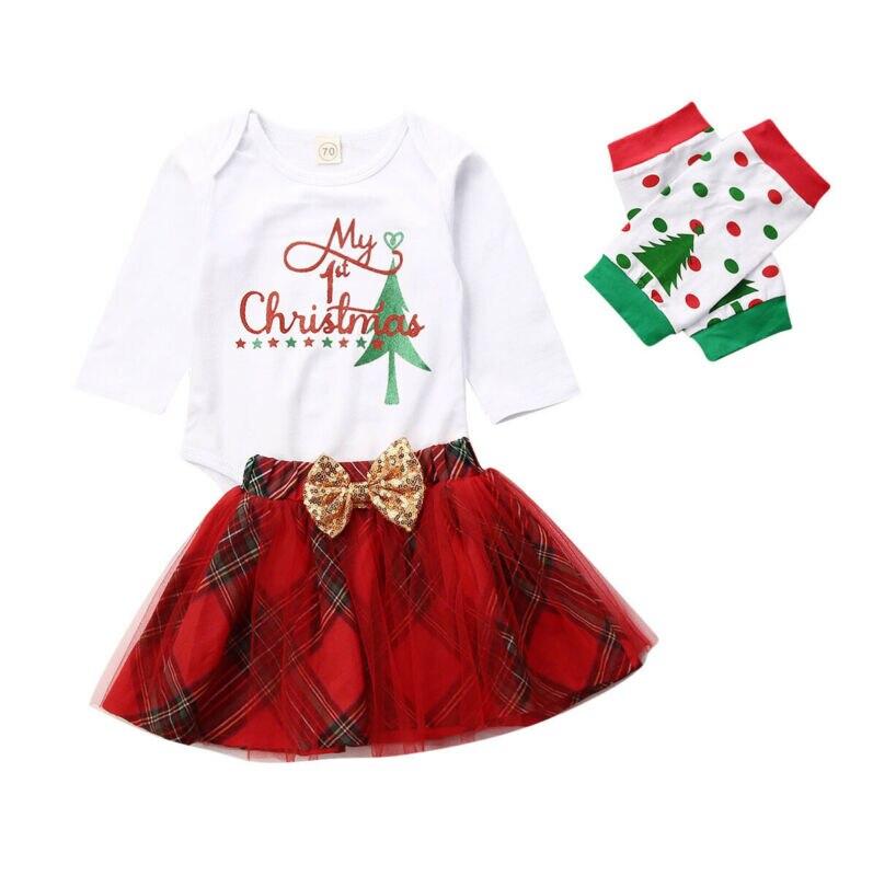4PCS nfant Baby Boy Girl Romper Tops Pants Hat Set Valentine Outfits 0M-18M S2