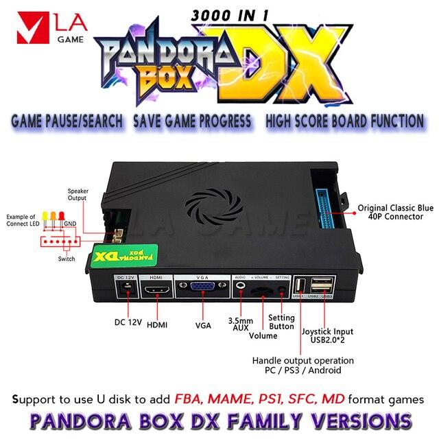 Фото аркадный комплект 2 игрока pandora box cx 2800 игры в 1 джойстик цена