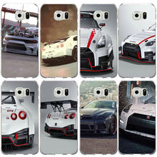 Soft Cases TPU Cover for Samsung Galaxy S2 S3 S4 S5 Mini S6 S7 S8 S9 S10 Edge Plus Lite Note 8 9 Hot Nissan GTR Need Speed(China)