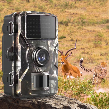 DL-100 Trail Camera Forest Camera 12MP 1080P Wildcamera Tracing Game IP66 Night Vision Hunting Camera Photo-Trap Thermal Imager 1