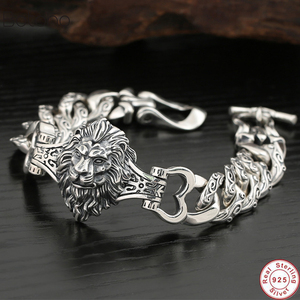 High Details Lion Chain 925 Sterling Sil