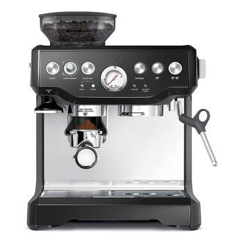 Espresso Coffee Machine Grind Beans Semi-Automatic 15 Bar Grinder with Steamer