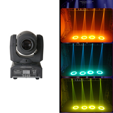 Mini RGBW LED 10W LED Beam moving head Light High Power 10Watt Quad Stroboscope LED Strong Beam Light For Party Disco DJ Light tiptop compacted size 200w rgbw zoom led studio light no flicker high frequency 2000hz silent working barndoor beam dimmer curve