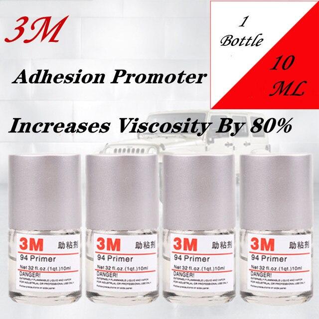 Prezzo speciale 3M adesivo Primer, base trucco promotore di Adesione 10ML aumentare ladesione Car Wrapping Strumento di Applicazione di car styling per nastro