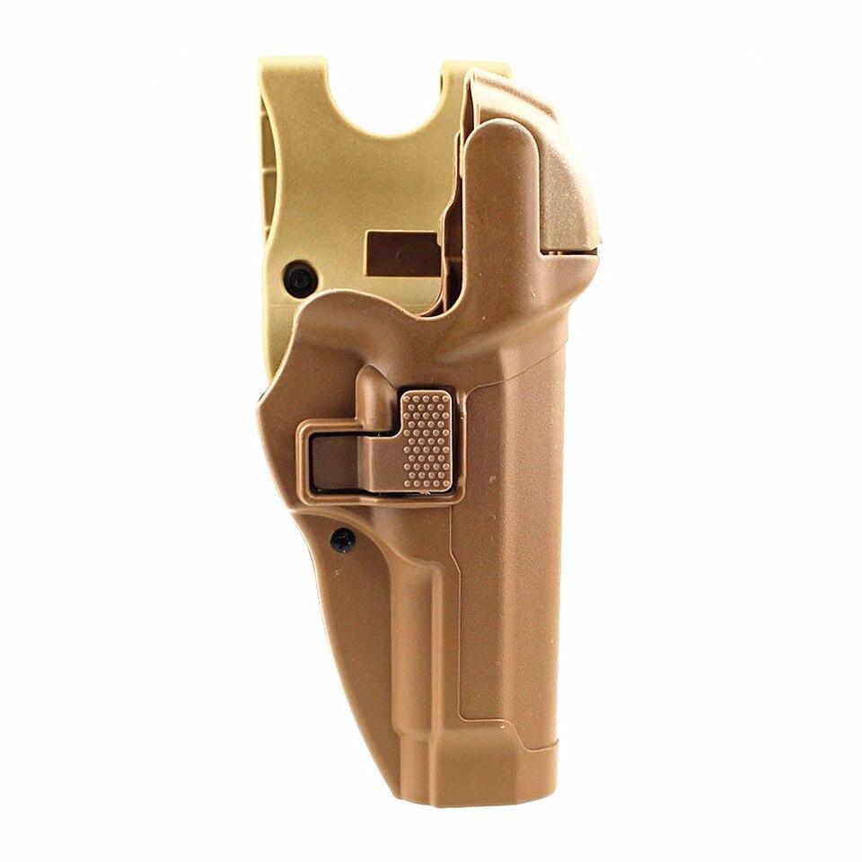 bloqueio automático pistola coldre arma mão direita