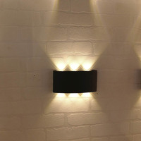 Waterproof IP65 LED Wall light porch light Up and Down lamp 6W 10W Modern 110V 220V 240V