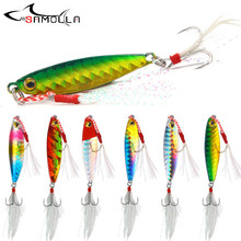 Metal Jig Fishing Lures 2019 Weights 7-20g jigs Articulos De Pesca Fishing Accessorie Sisca Artificial Fish Lure Kit Bass Lure fargiant hard lure metal jig fishing lure weights 8 20g jigs metal jig articulos de pesca isca artificial fakefishing jig lures
