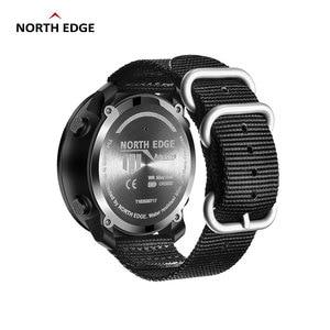 Image 2 - NORTH EDGE APACHE mężczyźni sport cyfrowy zegarek godziny działa pływanie zegarki wojskowe barometr wysokościomierz kompas wodoodporny