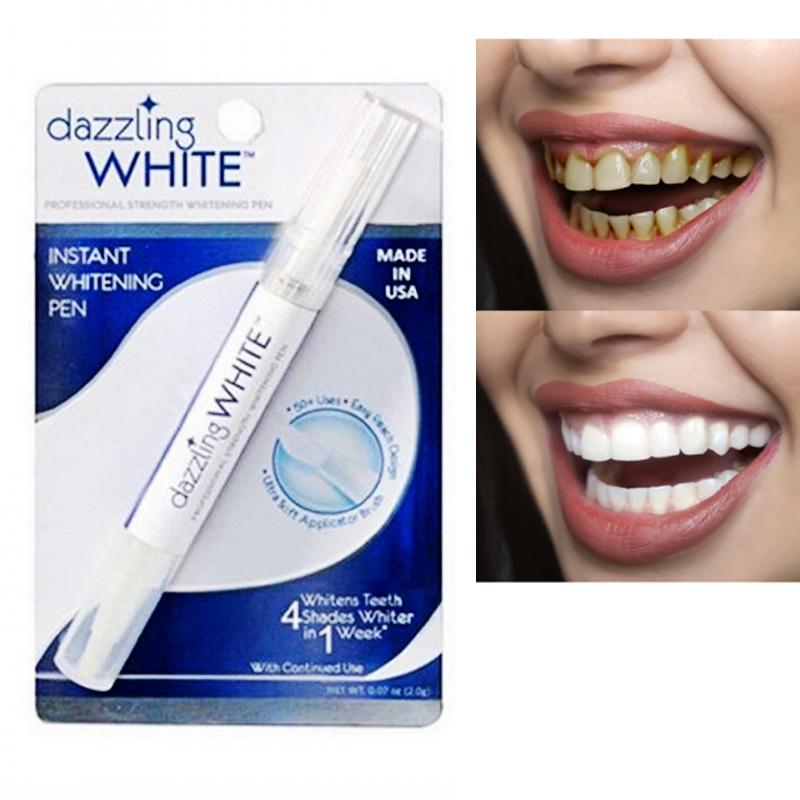 Dazzling Whitening Pen White Teeth Peroxide Bleaching Kit Tooth Cleaning Dental Teeth Whitener Hygiene Cleaning Toothpaste