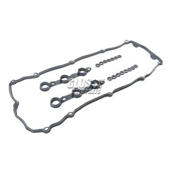AP03 Valve Cover Gasket Set With 15 Bolt Grommets for BMW E36 E39 Z3 M52 S52 11129070532 image