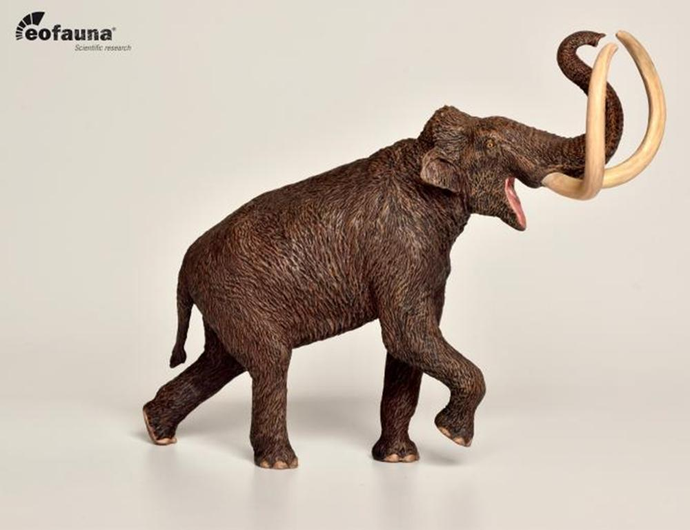 IN STOCK! Eofauna 1/40 Steppe Mammoth Prehistoric Animal Figure Mammuthus Animal Collector Elephant Toy Xmas Gift Realistic PVC