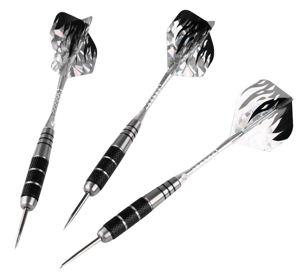 3pcs/Set Professional Tungsten Steel Needle Tip Darts With Dart Flights Sports Darts Shafts Anti-Fall Throwing Toys