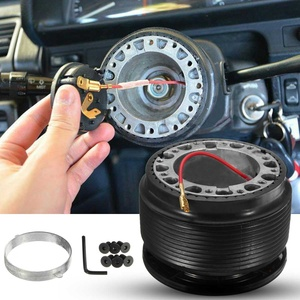 Steering Wheel Racing Hub Adapter Boss Kit Fit for Mitsubishi Lancer CE Evolution IV V VI FTO