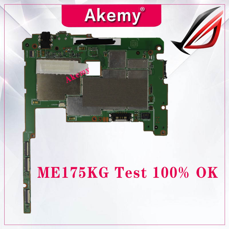 Tablet motherboard Logic board System Board Für Asus MEMO Pad HD 7 ME175KG 1,0 Doppel Karte VER Alle Funktionen Arbeiten gut