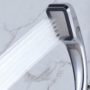 Shower-Head Bathroom Spray Powerfull Water-Saving 300-Holes Handheld High-Pressure Boosting