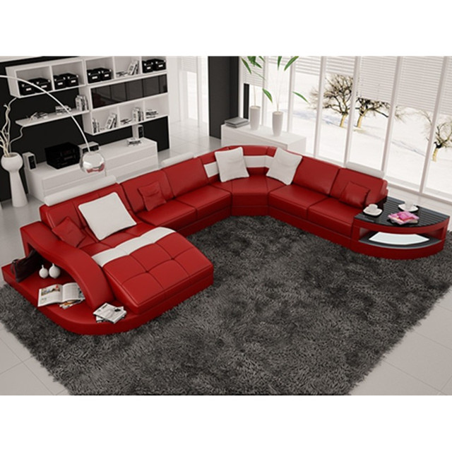 Multifunctional White Bedroom and Living Room Combo 6