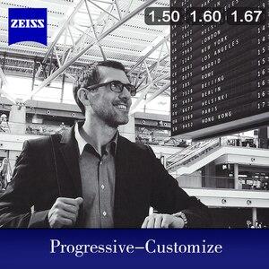Image 2 - عدسات ZEISS التقدمية 1.50 1.60 1.67 1.74 عدسات النظارات متعددة البؤر (تحتاج إلى بيانات كاملة عن وصفة طبية مخصصة)