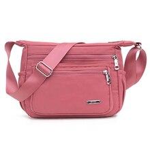Fashion Women Messenger Bags 2020 New Waterproof Nylon Crossbody Shoulder Bag Brand High Quality Solid Handbag Bolsos Mujer