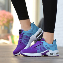 2020 Female Sneakers Big Size 35-42 Woman Running Shoes Breathable Women Sport Shoes Jogging Ladies Shoes Pink Zapatos De Mujer 2020 women s shoes woman casual shoes light sneakers breathable sports shoes sneakers running sport shoes women zapatos de mujer