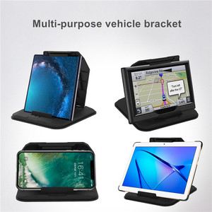 Image 5 - Telefon Auto Halter Auf Dashboard 4,0 zu 8 zoll Telefon Tablet Halter in Auto für iPhone XR XS MAX iPad mini GPS Auto Telefon Halter
