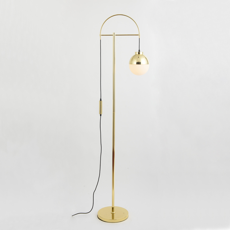 Modern Gl Floor Lamps Nordic Simple