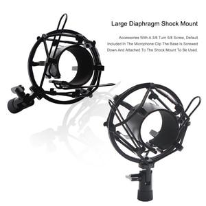 Image 3 - Scissor Arm Stehen Für Bm800 Mikrofon Stehen Mit EINE Spinne Cantilever Halterung Universal Shock Mount Mic Halter