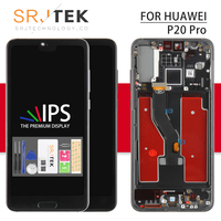 IPS For Huawei P20 Pro LCD CLT AL01 Touch Glass Panel Replacement Part For Huawei P20 Plus Display CLT AL00L Sensor Screen Frame