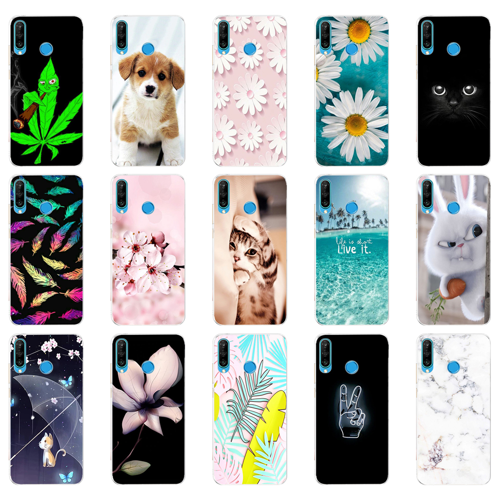 Силиконовый чехол для honor 20 s, чехол для телефона huawei honor 20 S, задняя крышка, бампер etui, coque, мягкий модный чехол из ТПУ с цветами