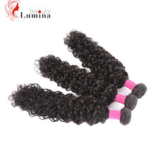 New Arrival Brazilian Water Weave Human Hair Bundles 3Bundles Deal 100gram/Pc Remy Hair Extension Human Hair Weave Best Quality(China)