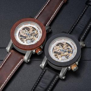 Image 2 - レロジオ Masculino ボボ鳥自動腕時計男性トップブランドの高級機械式腕時計男性 erkek kol saati ドロップシッピングの Oem