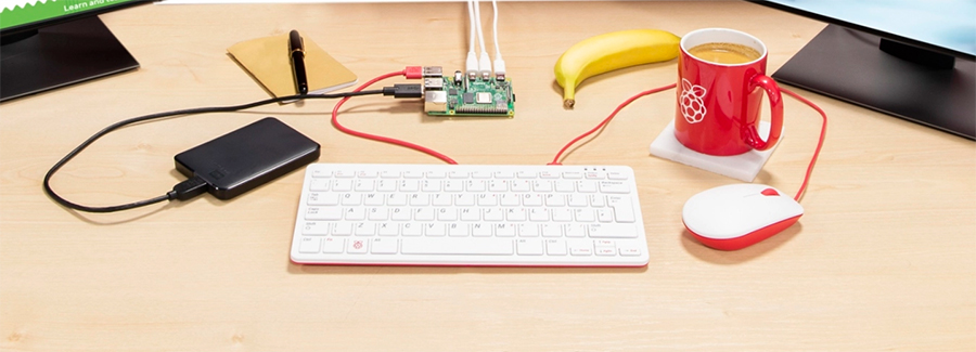 Raspberry Pi4 8GB-RAM Board-Kit