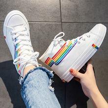 Vulcanized shoes boys casual shoes student canvas sneakers u