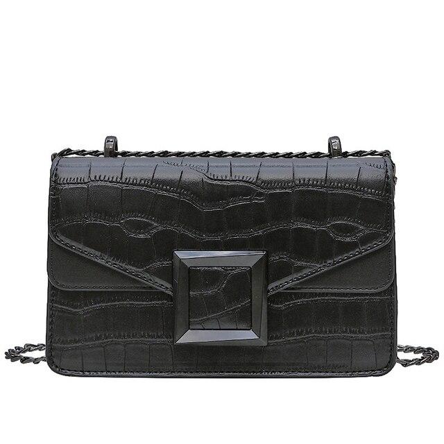 Stone Pattern Crossbody Bags  5