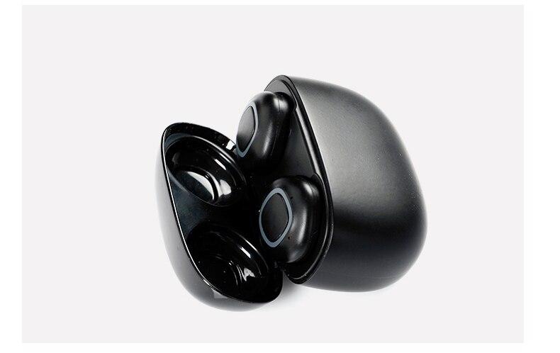 Fone de ouvido bluetooth com caixa de