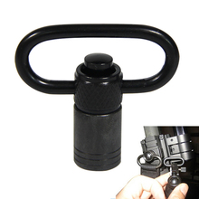 Tactical Sling Loop Adapter Push Button Quick Release Detachable Sling Swivel Mount  For Rifle Shotgun Airsoft Hunting RL37-0106 стоимость