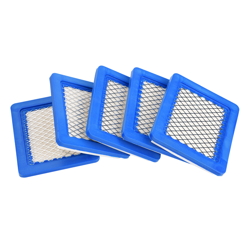 5PCS Lawn Mower Air Filter For Briggs & Stratton 491588 491588S 399959, John Deere PT15853