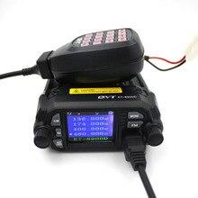 Version améliorée QYT KT 8900D 25W puissance radio Mobile 136 174MHz/400 480MHz double bande Quad affichage nouvelle fonctionnalité émetteur récepteur mobile