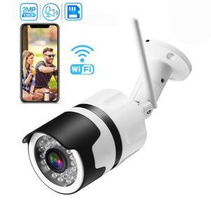 Image 1 - Inesun [2020 新加入] 屋外ワイヤレスセキュリティカメラ 1080 1080p 防水無線 lan ip カメラホーム弾丸カメラ ios android アプリ