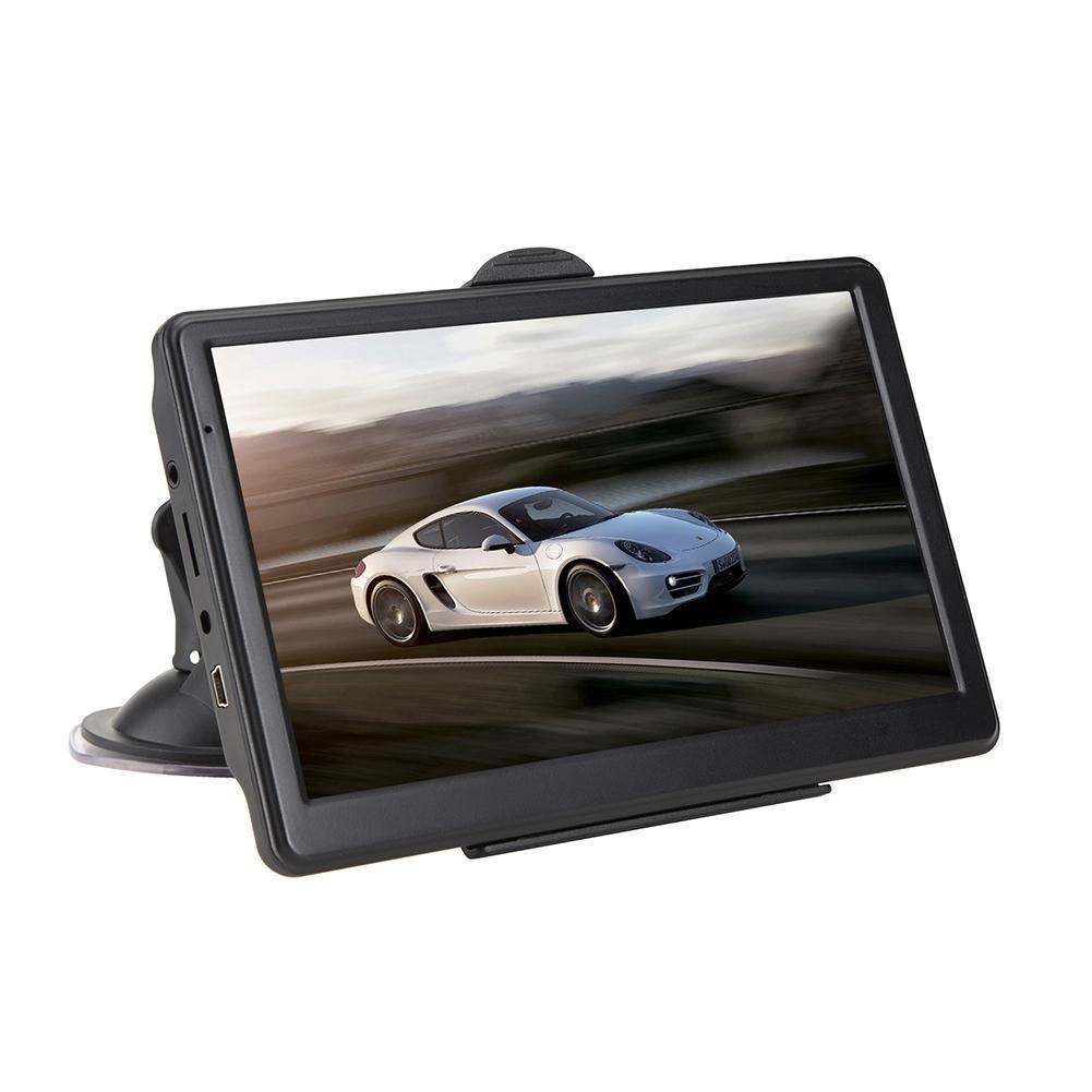 7 cal HD RAM 256MB ROM 8G GPS samochód z nawigacją do ciężarówek Navigator