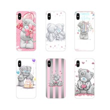 Tatty Teddy Me tienes para Samsung Galaxy S3 S4 S5 Mini S6 S7 borde S8 S9 S10 Lite funda para teléfono móvil Plus Note 4 5 8 9(China)