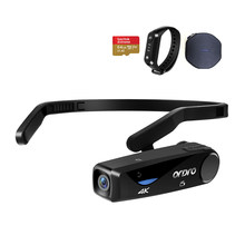 Ordro EP6 Mini Camcorder 4K 24FPS Fpv Wearable Vlog Camera Met Afstandsbediening 64Gb Geheugenkaart, voor Youtube Blogger Video Filmen