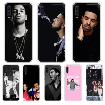 Rapper Aubrey Drake Graham Phone Case cover For XIAOMI Redmi Note 3 4 5 6 7 8 9 9s Pro max 8T 4X transparent cover art back image