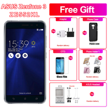 Brand New Asus Zenfone 3 ZE552KL 4G LTE Mobile Phone 5.5″ 4GB RAM 64/128GB ROM Snapdragon625 Octa Core 1920x1080p Android phone