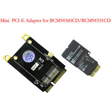 3.0 Version Adapter for BCM94360CD Module to Mini PCI-E 52Pin Interface No Drive Easy Installation, Plug and Play(China)