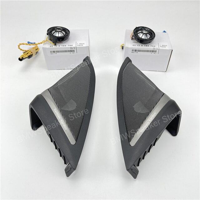 Auto front Tür Lautsprecher Für BMW G30 5 Serie Harman/kardon Hochtöner Abdeckung Audio Trompete Höhen Hohe Horn Rahmen trim Besser Sound