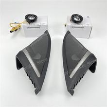 Car front Door Speakers For BMW G30 5 Series Harman/kardon Tweeter Cover Audio Trumpet Treble High Horn Frame Trim Better Sound