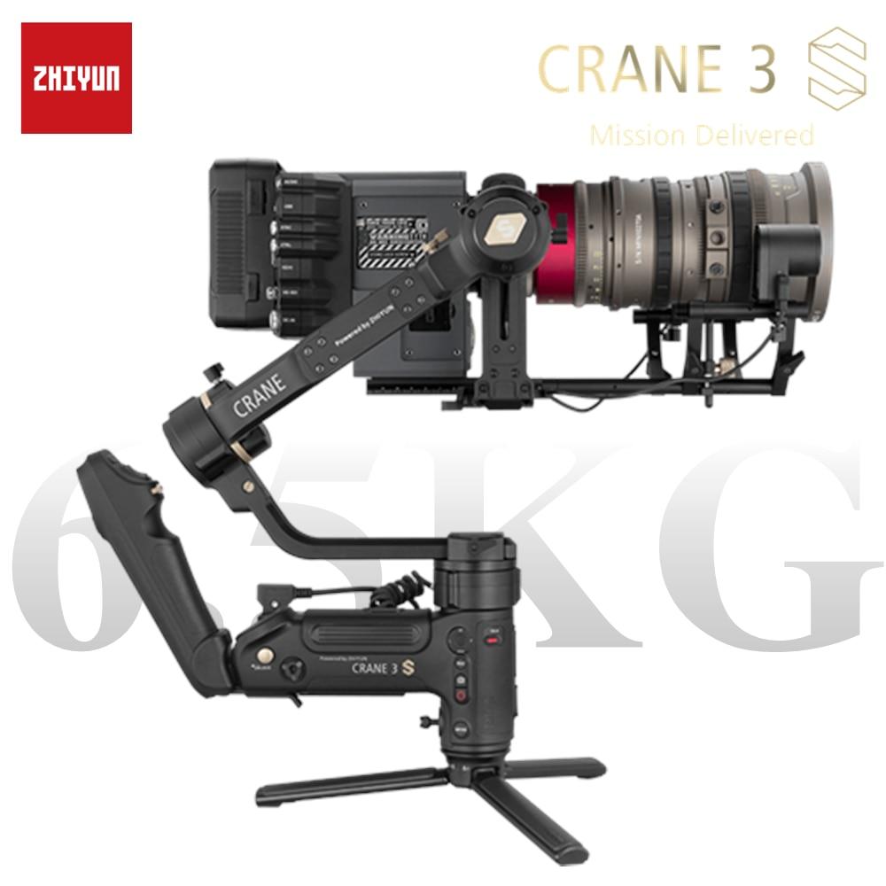 ZHIYUN guindaste 3S S-E 3 eixos gimbal portátil sem fio 1080p FHD - Câmera e foto