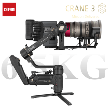 ZHIYUN crane 3S S-E 3-axis handheld gimbal wireless 1080p FHD image transmission camera stabilizer for DSLR camera gimbal camera